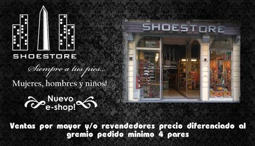 zapatilla cordon lona combinada oferta ultimo par shoestore
