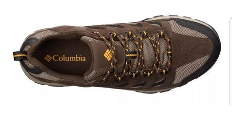zapatilla crestwood whaterproof hombre columbia trekking