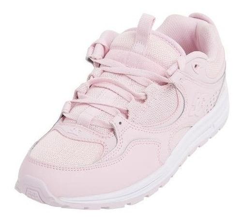 zapatilla dc kalis lite rosa de dama en promocion