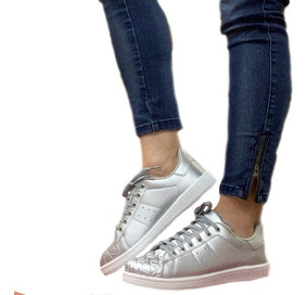 921698d1 Zapatillas Blancas Mujer - Zapatillas Urbanas de Mujer en Mercado Libre  Argentina