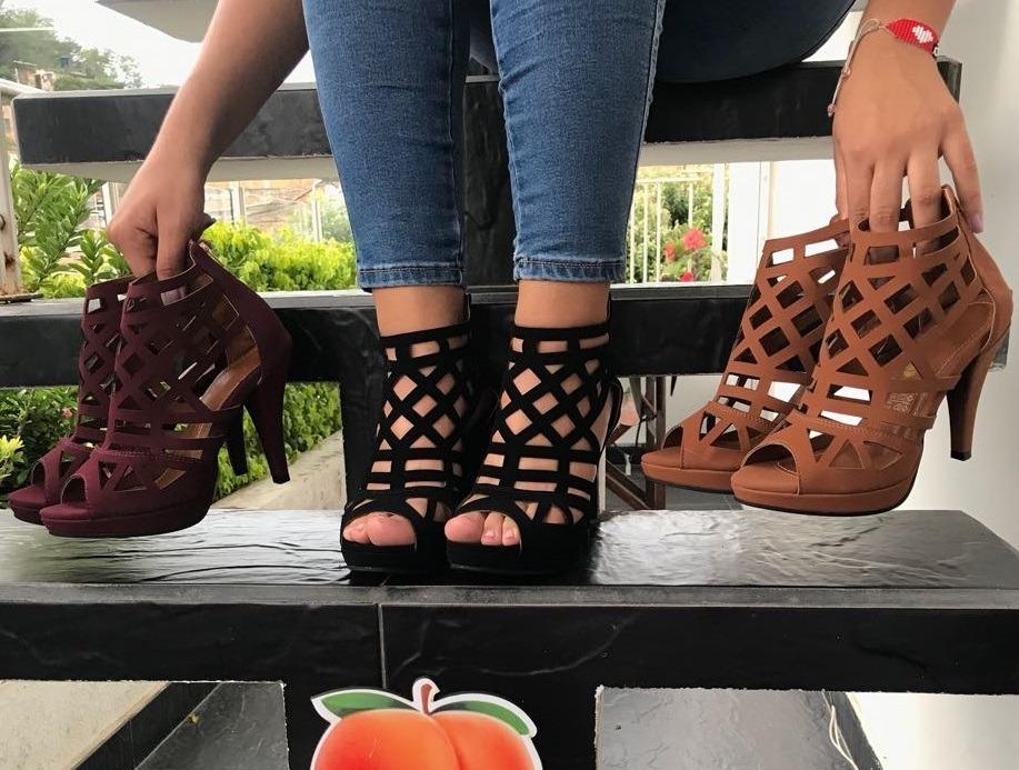 zapatilla de tacón colores moda laser de mujeres moda mujer. Cargando zoom. a880ae575061