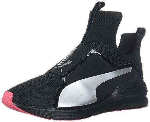 zapatilla deportiva fierce core para mujer puma, black-parad