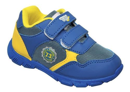 zapatilla deportiva i73 za azul amar niño toy talle 20 al 26