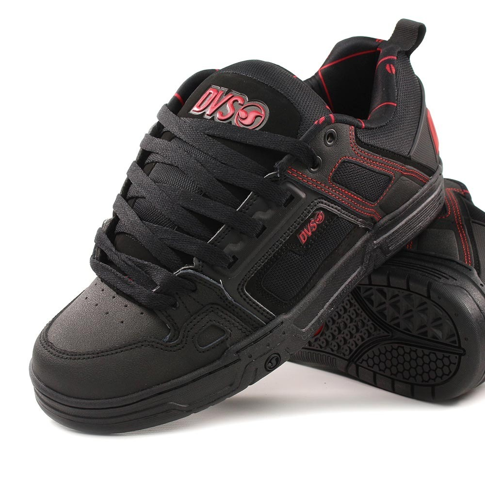 5fceea82d01 Zapatilla comanche black red black negras jpg 1000x1000 Red dvs shoes