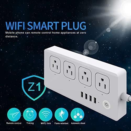 Circuito Zapatilla Electrica : Zapatilla enchufe electrica wi fi smart google home alexa