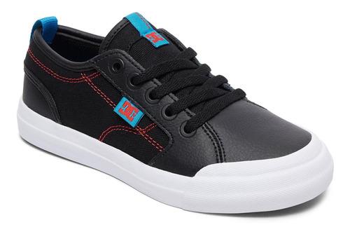 zapatilla evan se negro dc shoes