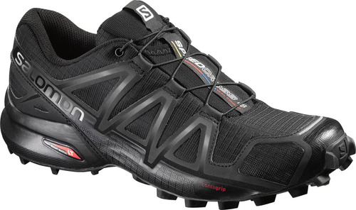 zapatilla femenina salomon- speedcross 4 w negro