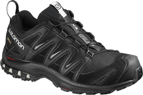 zapatilla femenina salomon - xa pro 3d gtx w  negro - trail