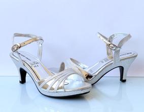 En De Mercado Libre México Sandalias Plateadas Tacon Zapatos Bajo e9EDYW2IH