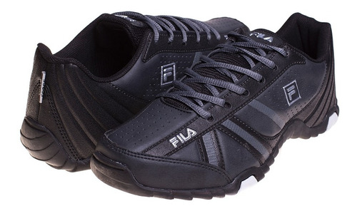 zapatilla fila f-slant force negro