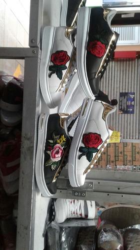 zapatilla flores todas las tallas