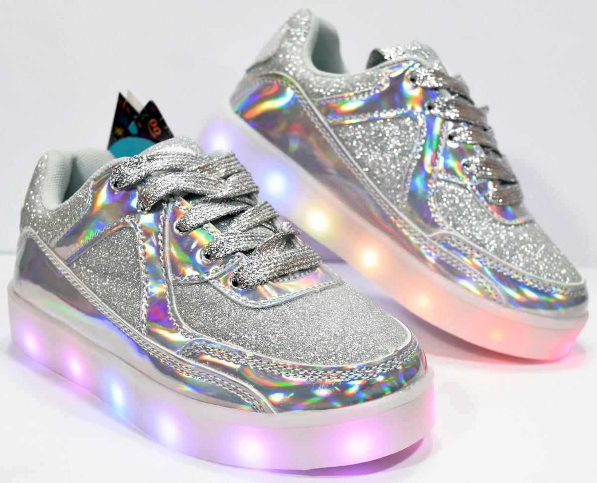 235f03409 zapatilla footy luces led plateada niña fxl87 calzados susy. Cargando zoom.