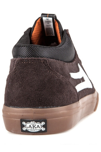 zapatilla griffin mid marron - lakai