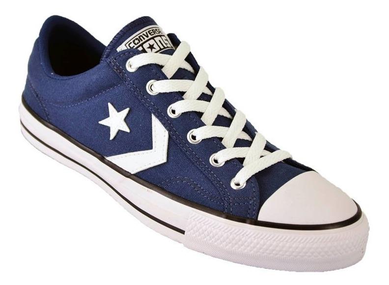all star converse hombre azul