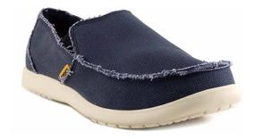 compra especial fina artesanía nueva colección Zapatilla Hombre Crocs Mocasin Tela Confort Goma - Hcal00725