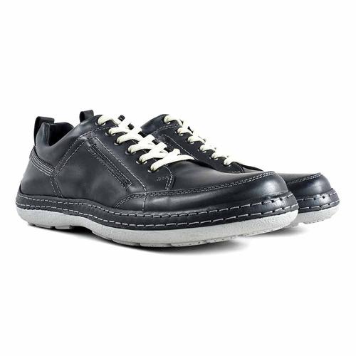 zapatilla hombre cuero briganti zapato confort - hczp14141
