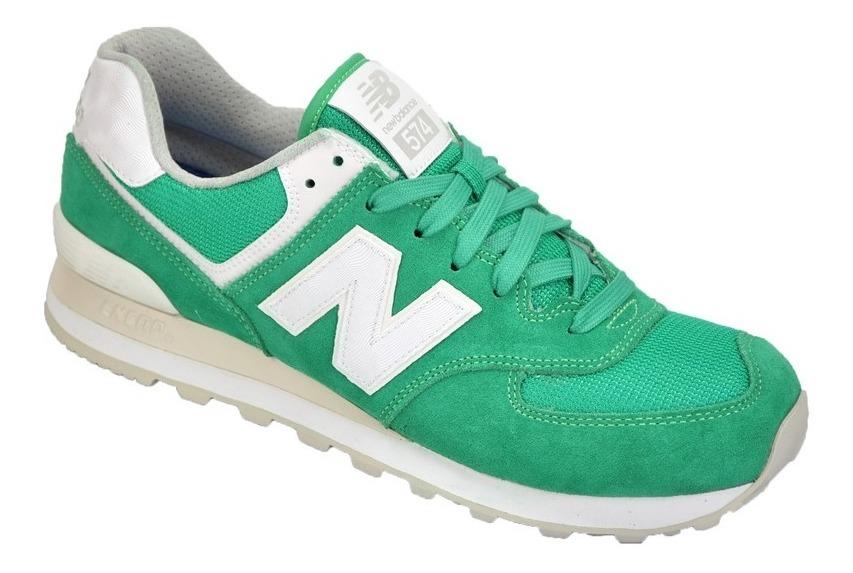 new balance 574 hombres zapatillas verde