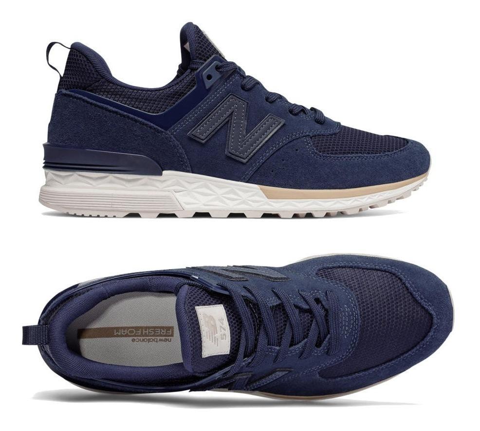 zapatillas hombre new balance azul marino