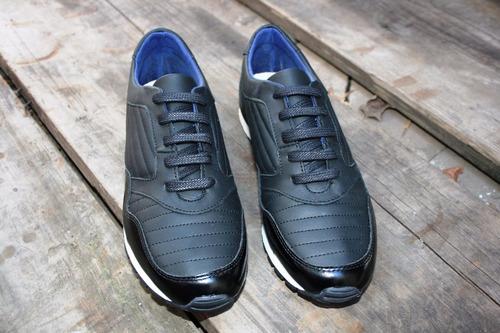 zapatilla hombre tascani fiun negro vestir