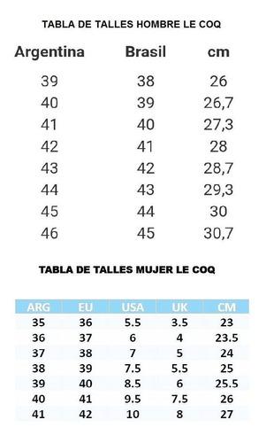 zapatilla  ione solid plo/fuc le coq sportif mujer promocion