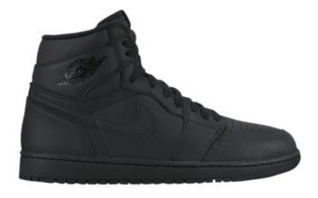 zapatilla jordan retro 1 high og total black