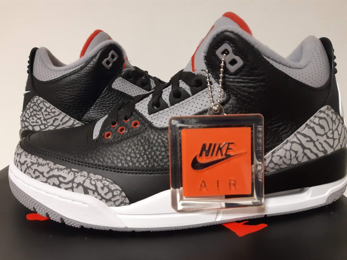 cheap for discount 05d7c 8b6f0 Zapatilla Jordan Retro 3 Black Cement 2018 - $ 10.500,00