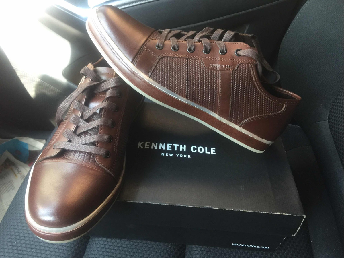 226808c3671 zapatilla kenneth cole reaction usa 8.5 brand wagon 2 marron. Cargando zoom.