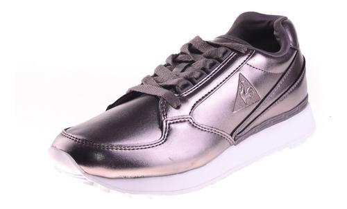 zapatilla le coq eclat w metal silver