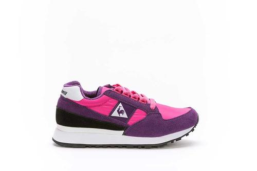 zapatilla le coq sportif eclat w nylon - pink-violet mujeres