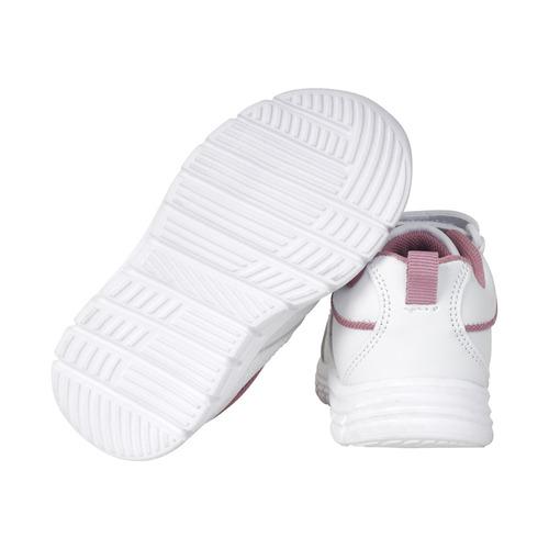 zapatilla light deportiva blanco low girl opaline