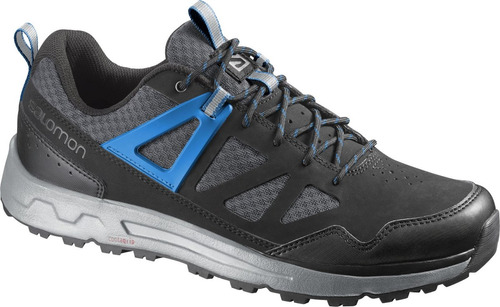 zapatilla masculina salomon- instinct pro m negro/azul