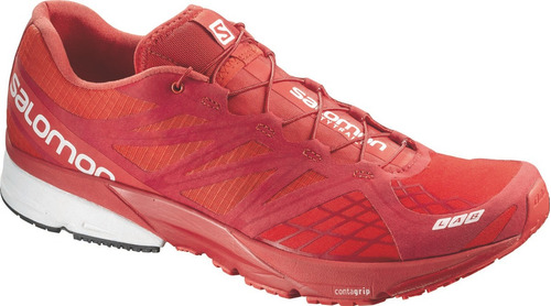 zapatilla masculina salomon- s-lab x-series rojo