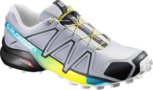 zapatilla masculina salomon- speedcross 4 m gris