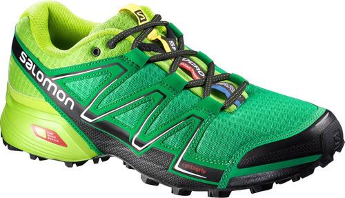 zapatilla masculina salomon -  speedcross vario m verde