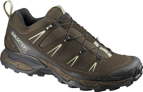 zapatilla masculina salomon -  x ultra m marron - hiking
