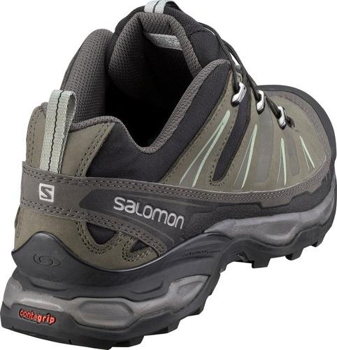 zapatilla masculina salomon- x ultra m verde oscuro/negro
