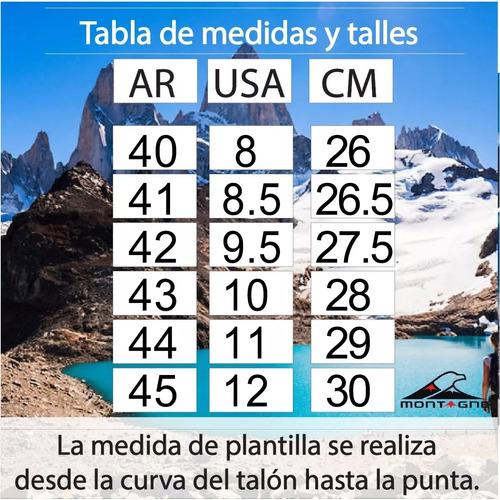 zapatilla montagne running hombre pikes ahora 12 y ahora 18