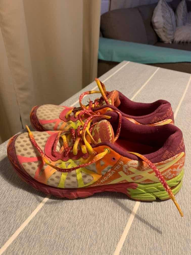 Divertidísimo Artista arma  Zapatilla Mujer Asics Gel-noosa Tri 9 - $ 50.000 en Mercado Libre
