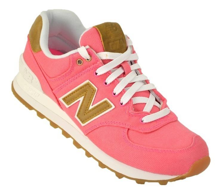 new balance mujer rosa 574