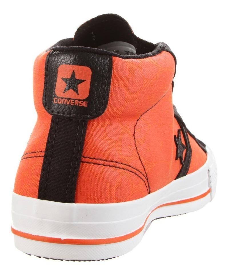 Zapatilla Naranja Converse Star Player Envío Gratis
