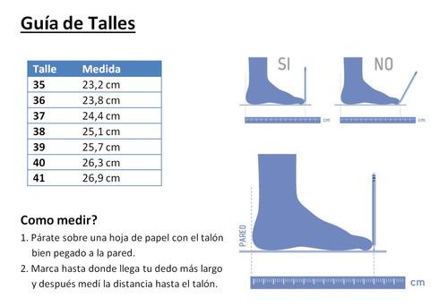 zapatilla náutica con cordones - dama - lona - lady's original