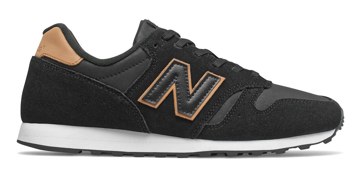 Zapatilla New Balance 373 Hombre Negro