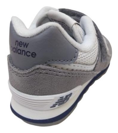 new balance 574 gris niño