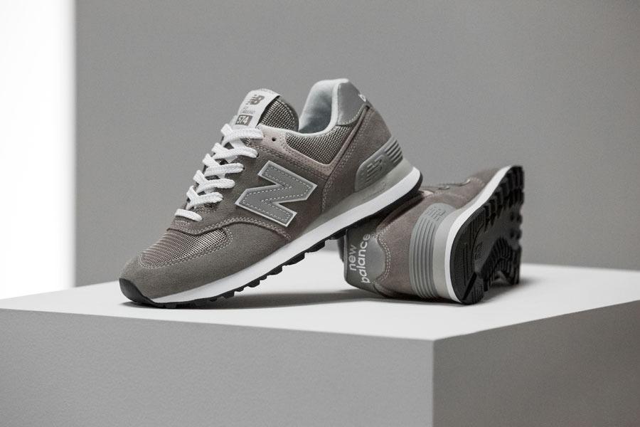 new balance 574 gris claro