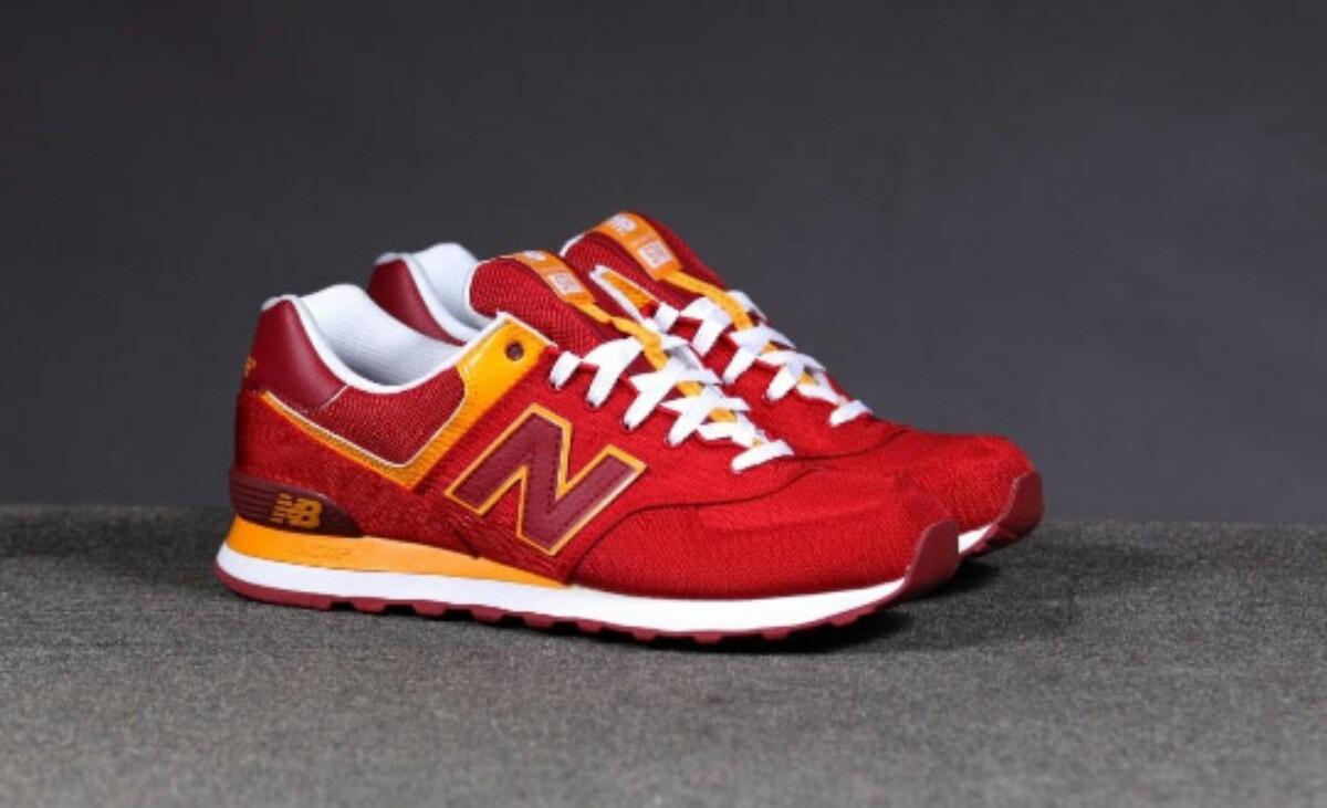 new balance 574 rojas y amarillas