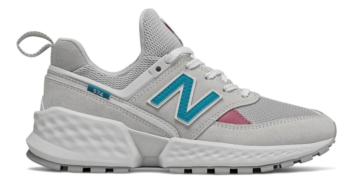 Zapatilla New Balance 574 Sport Mujer Gris