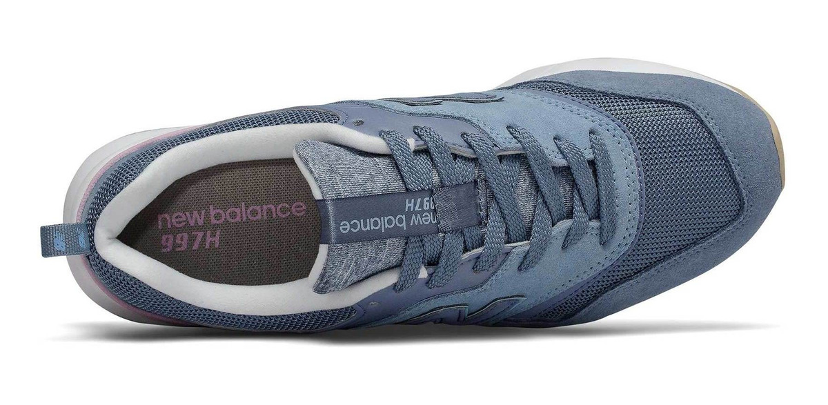 new balance 997h mujer azul