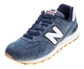new balance hombre 574 azul