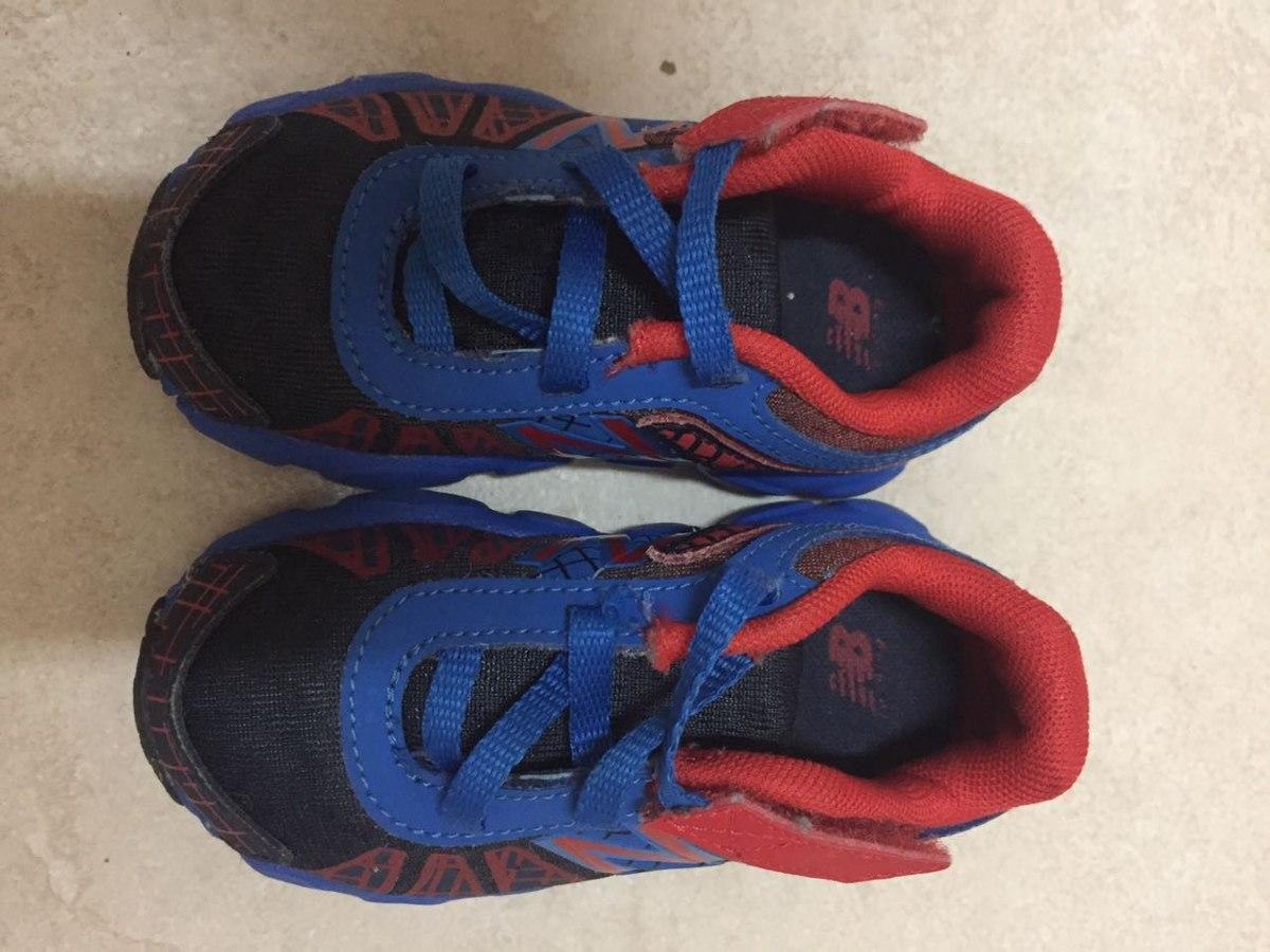 zapatillas new balance niño rojo