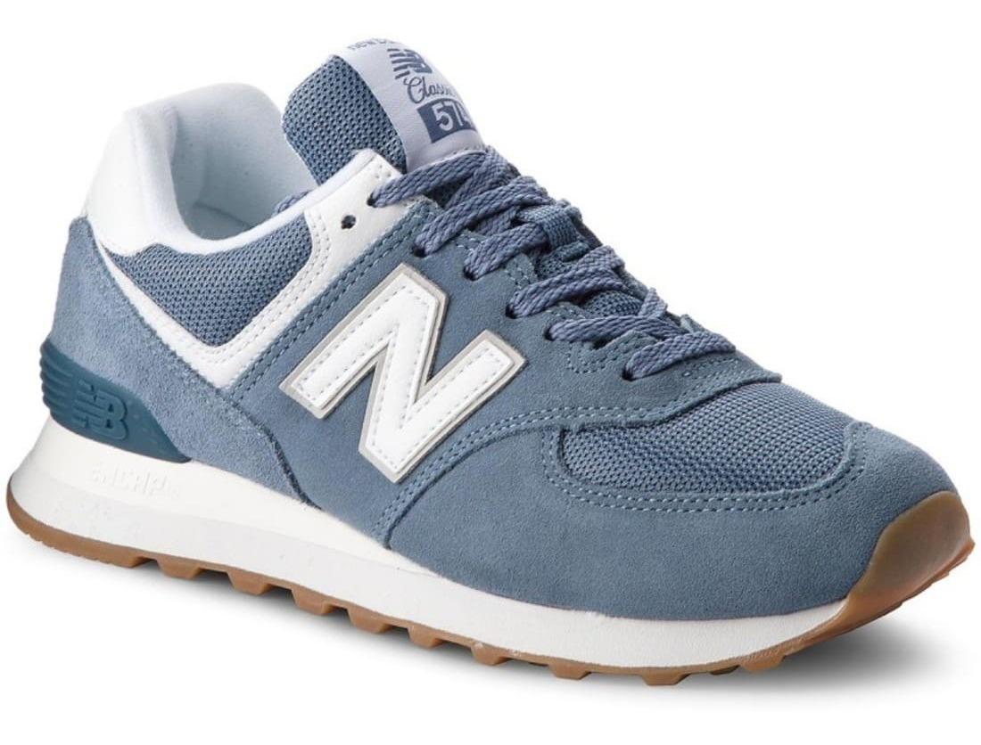 zapatilla mujer new balance azul